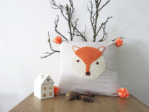 Pillowcase Woodland Friends - Fox