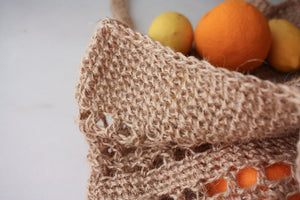 Big Natural Crochet Market bag