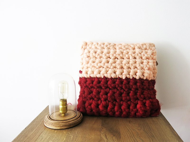 Chunky Textures Pillowcase