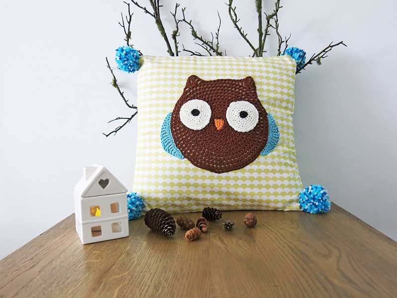 Pillowcase Woodland Friends - Owl
