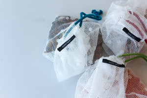 Reusable Mesh Produce Bags - Set of 3 - Size S