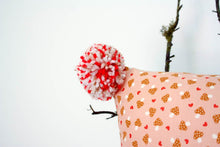 Load image into Gallery viewer, Pillowcase Woodland Friends - Pink Mushrooms