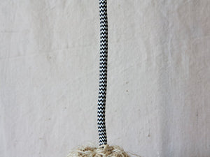 "Lamp ""Rope"" M with Pompons"