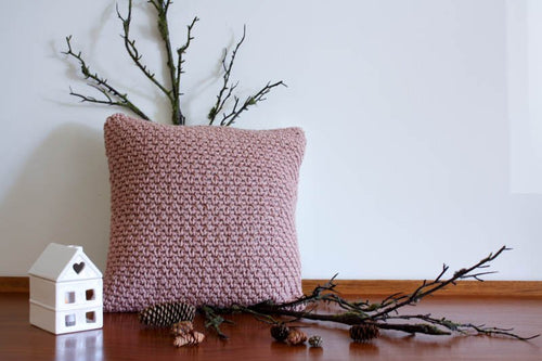 Pillow Textures Dust Pink
