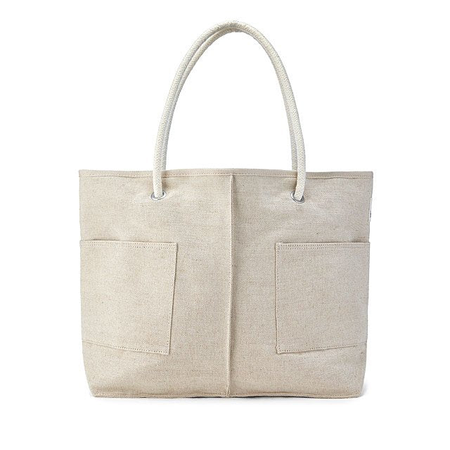 Tote made from Sustainable Hemp & Recycled Plastic Bottles