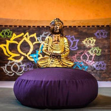 Load image into Gallery viewer, Organic Cotton Meditation Pillow