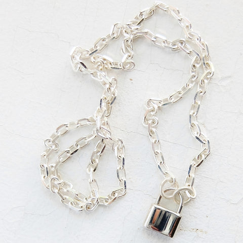 BDSM Mini Padlock Collar
