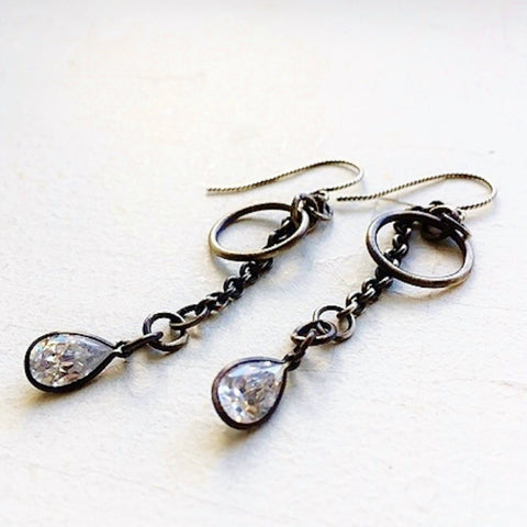 Bad Kitten Dangle Earrings