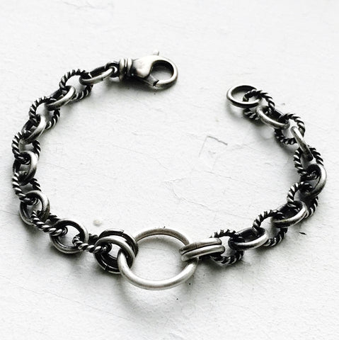 Rope Chain O-Ring Bracelet