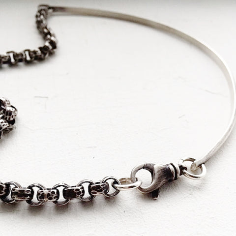 Metal & Chain Collar