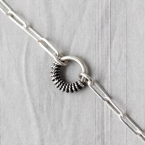 Petite Wire-Wrapped O-Ring Bracelet
