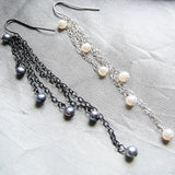 Pearl Cascade Earrings