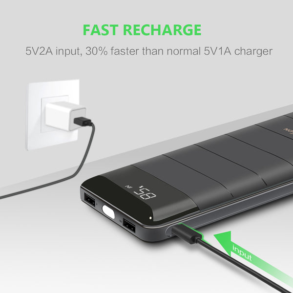 20100mAh Portable Power Bank Charger External Battery