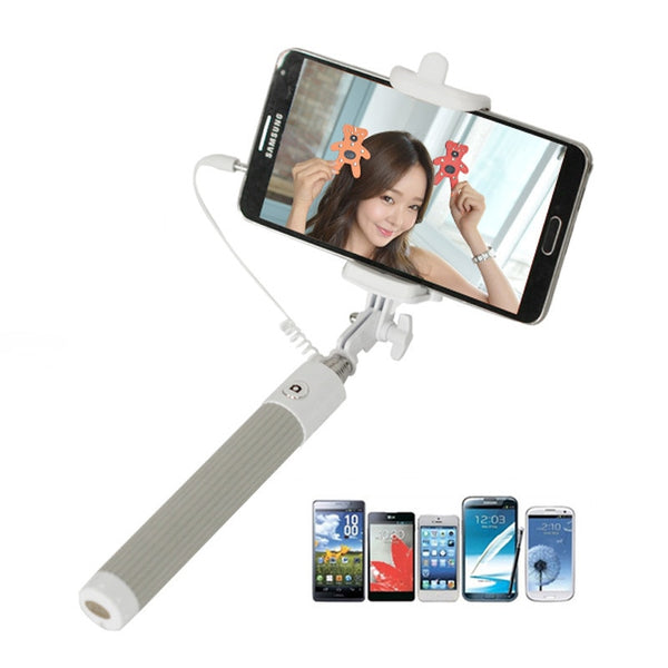 Aluminum Alloy Extendable Handheld Self-portrait for Smartphones