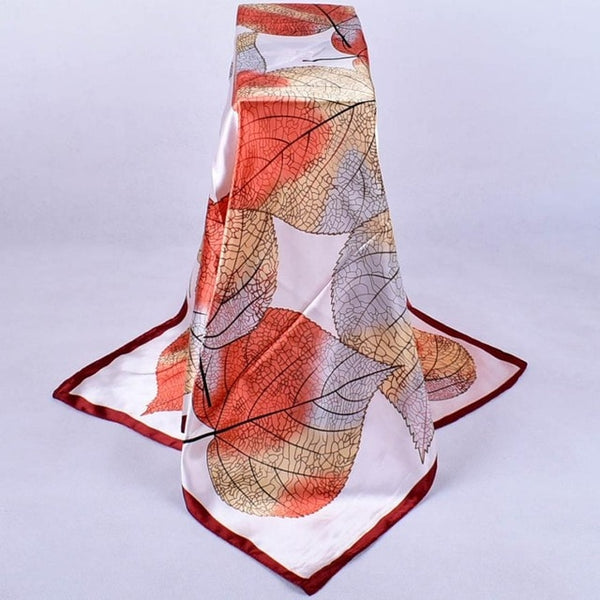 Fashion Women  Scarves Floral Printed Square