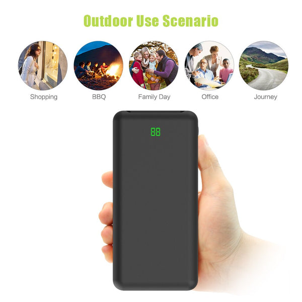 20000mAh Power Bank External Battery Fast Type-C Charger