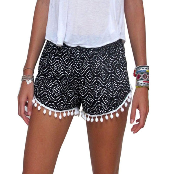 Sexy  Summer Casual Shorts High Waist  Beach