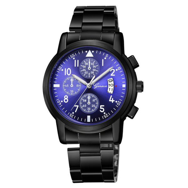 Fashion Watches man Fashion Military Stainless Steel