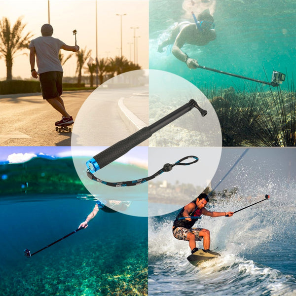 Extendable Selfie Stick Pole Arm Monopod For GoPro Hero Camera