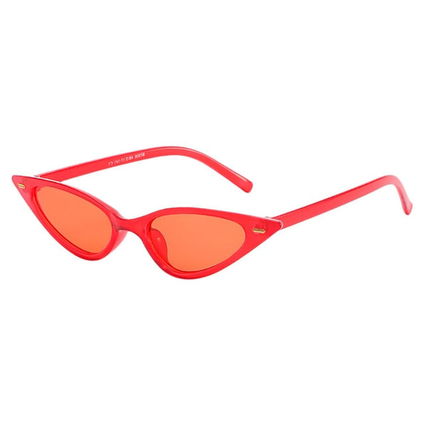 Fashion Small Frame Sunglasses for Women Vintage Retro Cat Eye