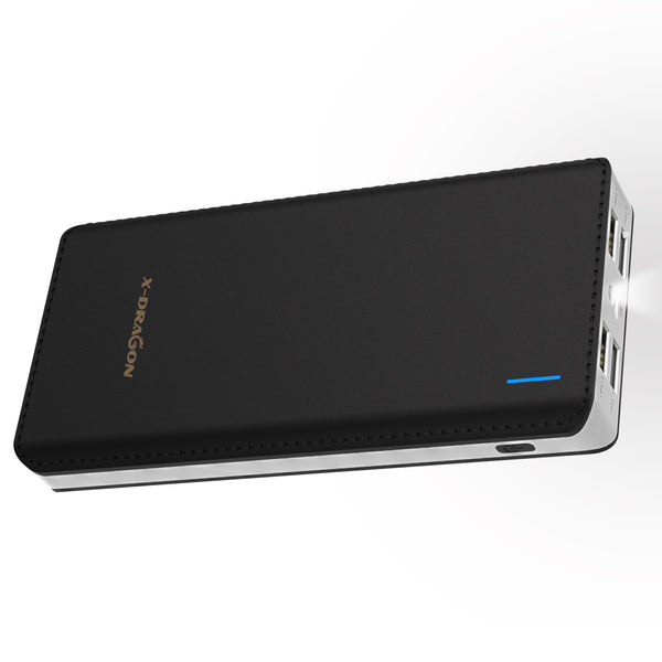 24000mAh Power Bank  4 USB Output External Battery Pack