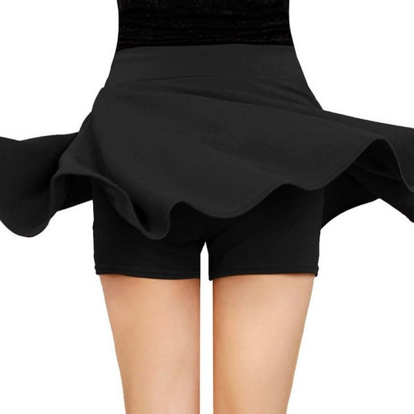 Skirt Fashion Fluffy Pleated Anti-Light High
