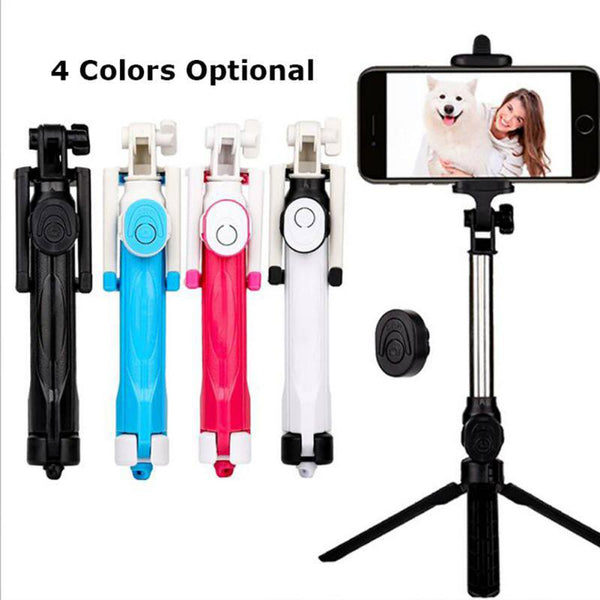 Bluetooth Selfie Stick Tripod Extendable Monopod  For iPhone