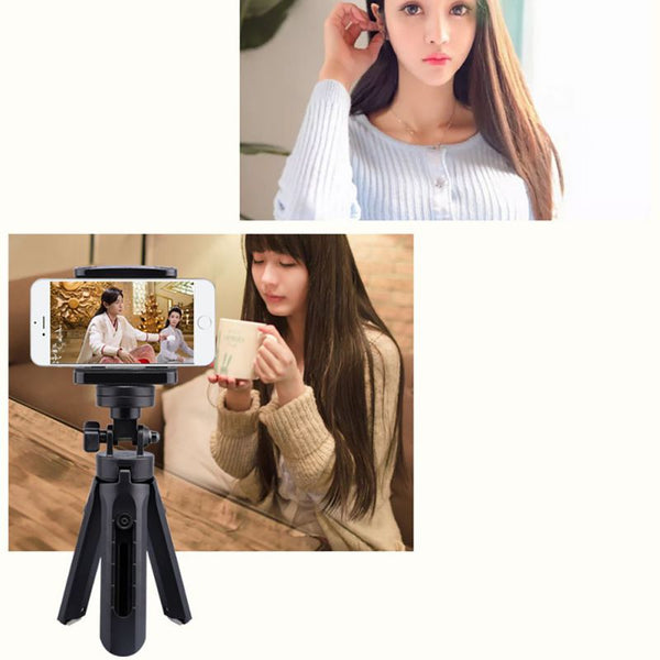 Selfie Stick Tripod Mini Free-standing 360 Degree Rotatable Portable