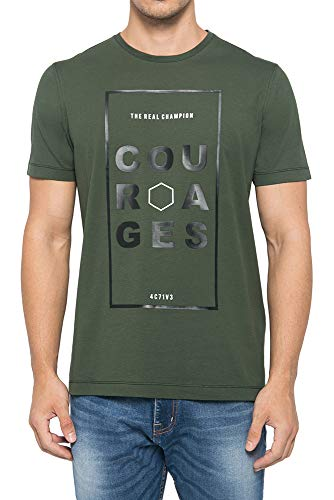 Courages Graphic T-Shirt - Johnwin