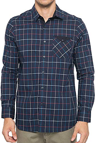 Johnwin Check Cotton Long Sleeve Shirt - Johnwin