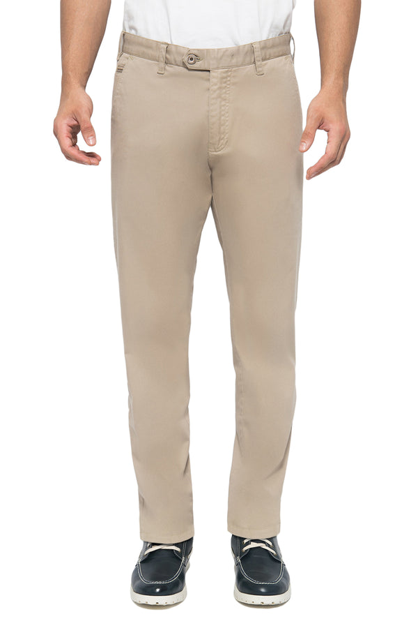 Stretch cross pocket Chinos - Johnwin