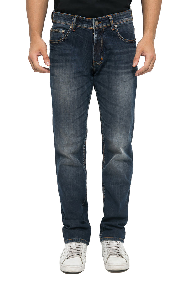 Slim Straight Fit Comfortable Durable Jeans - Johnwin