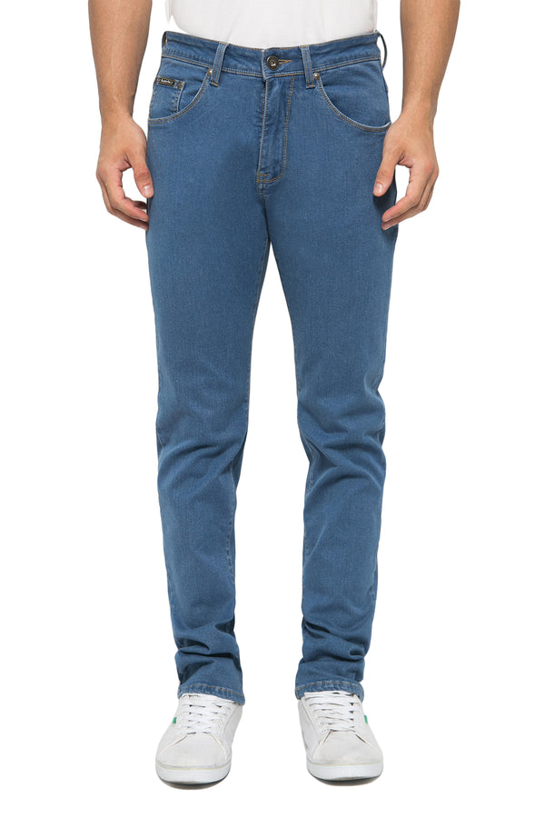 Slim Straight Fit Soft Stretch Comfort Performance Jeans - Johnwin