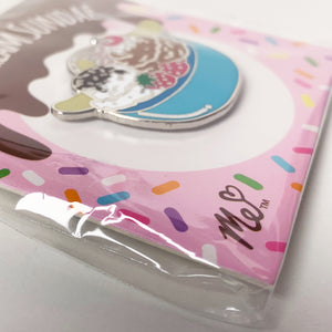 Ice Cream Sundae Hard Enamel Pin