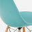 modernica fiberglass dowel side shell case study chair maple black breeze detail