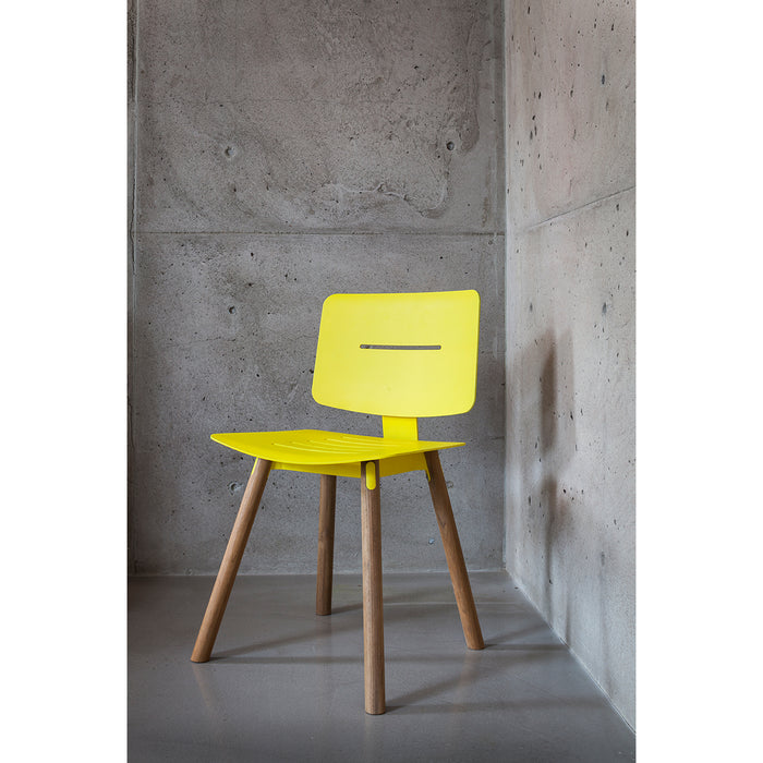 oasiq coco side chair teak legs