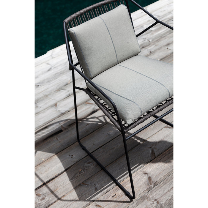oasiq sandur armchair seat and back woven