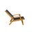 oasiq skagen adjustable deck chair