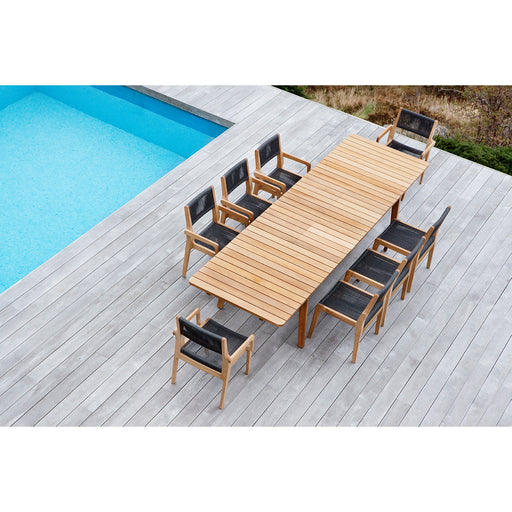 oasiq skagen extendable dining table