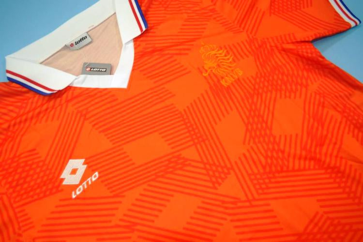 super popular 2cd15 4a9a1 Netherlands national team retro soccer jersey 1991