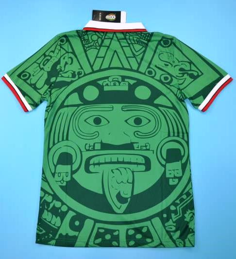 94462a74d Mexico vintage Green soccer jersey World cup 98 – Jaraguar
