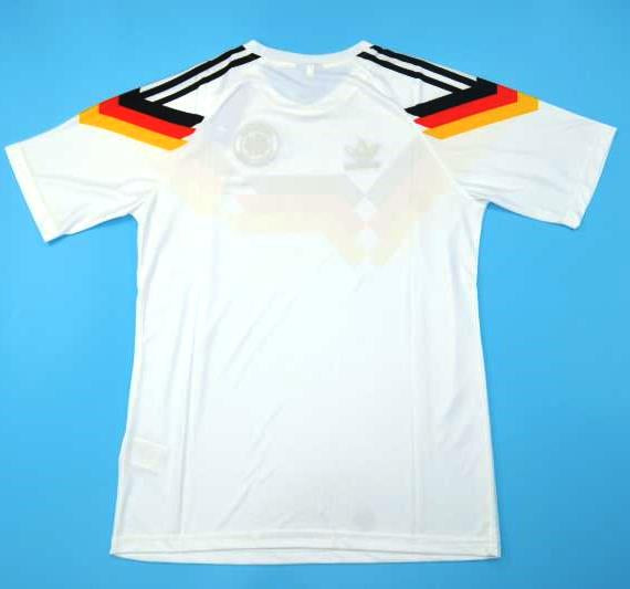 huge discount 5359f f5c8a Germany retro soccer Jersey World Cup 90