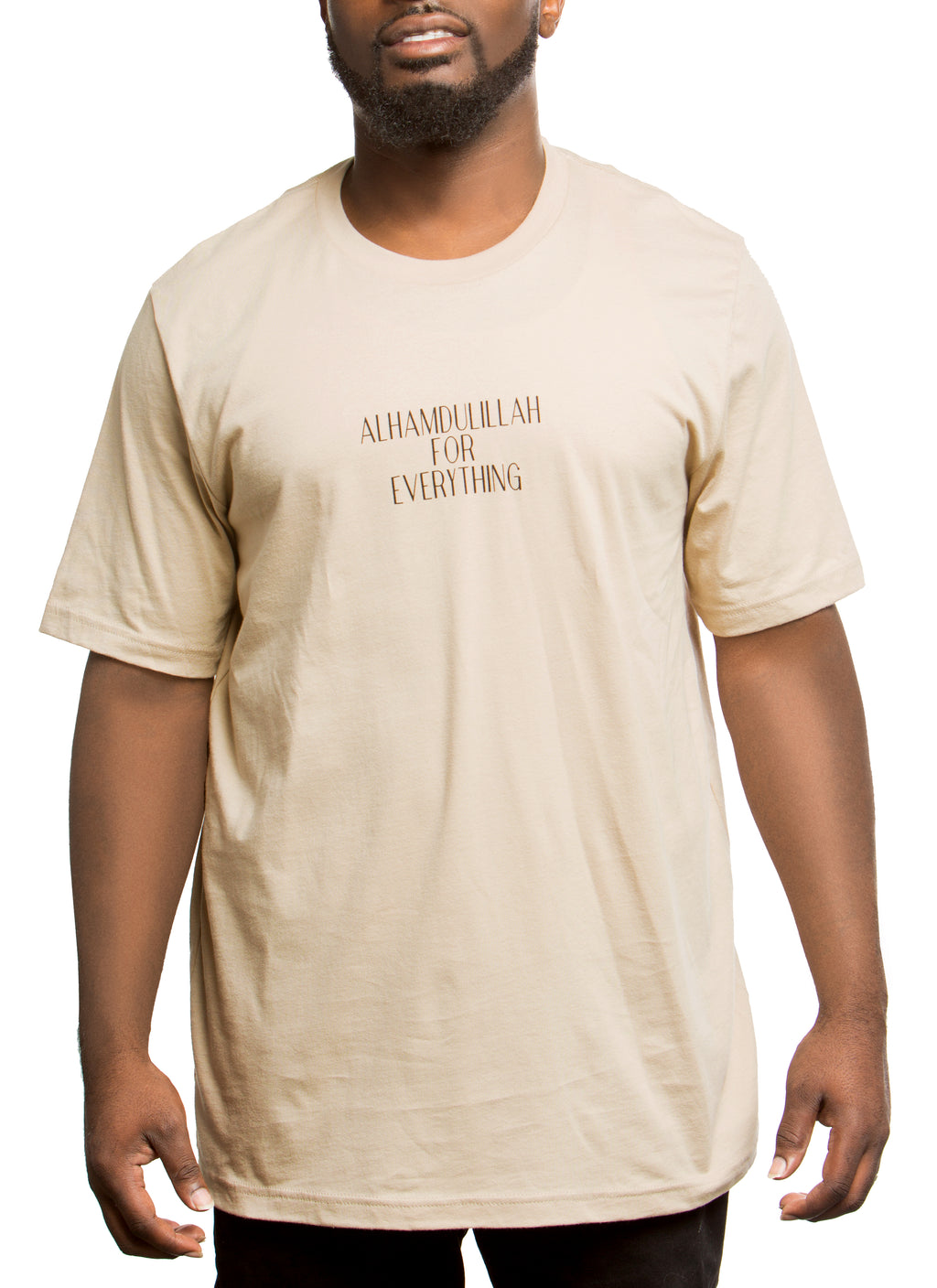 Alhamdulillah for Everything Text T-Shirt