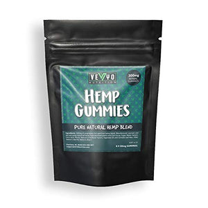 Hemp Gummies by VEYO Nutrition 6 x 50 mg each (300 mg package)