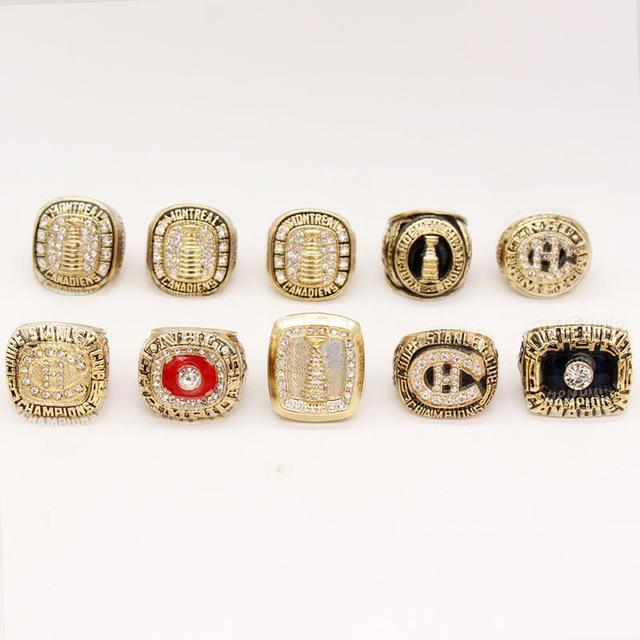 Montreal Canadiens Stanley Cup Ring Set (1959, 1973, 1977, 1978, 1979, 1986, 1993)