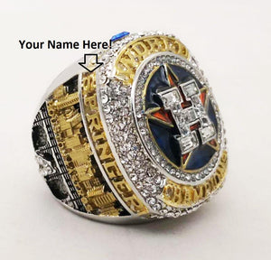 NEW Houston Astros World Series Ring (2017) - Players Ring