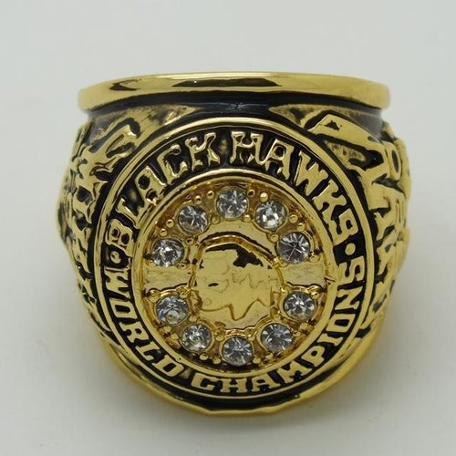 Chicago Blackhawks Stanley Cup Ring (1961)