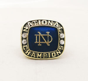 Notre Dame Fighting Irish College Football National Championship Ring (1973) - Premium Series