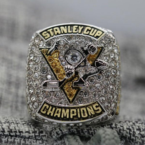 SPECIAL EDITION Pittsburgh Penguins Stanley Cup Ring (2017) - Premium Series