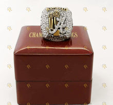 Load image into Gallery viewer, Alabama Crimson Tide College Football Ring (2018) - Nick Saban